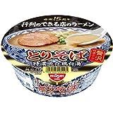【ケース販売】日清 行列のできる店のラーメン とりそば 特濃魚介鶏白湯 127g×12個