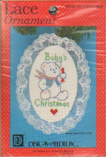 Lace Ornaments: First Christmas #1236 by Designs for the Needle