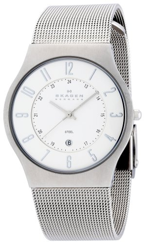 SKAGEN (スカーゲン) 腕時計 basic steel mens 233XLSS ケース幅: 36mm メンズ [正規輸入品]