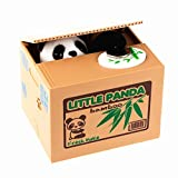 LMTECH Cute Stealing Coin Little Panda Money Bank,Saving Box,Panda Money Box