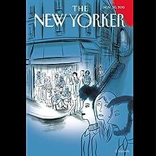 The New Yorker, November 30th 2015 (Alexandra Schwartz, Evan Osnos, Margaret Talbot)  by Alexandra Schwartz, Evan Osnos, Margaret Talbot Narrated by Todd Mundt