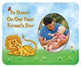 To Daddy on Our First Father's Day Photo Magnet Frame