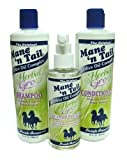 Mane n Tail Herbal Gro Shampoo & Conditioner Olive Oil Complex with Hair n Root Strengthener
