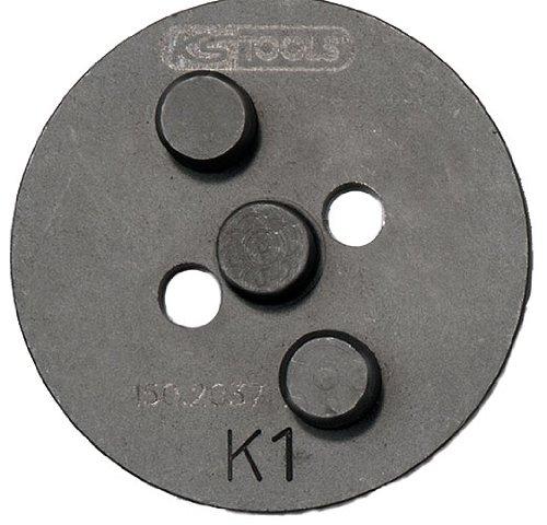 KS Tools 150.2037 - Adattatore K1 per utensile per la lavorazione dei pistoncini dei freni, ø 54 mm
