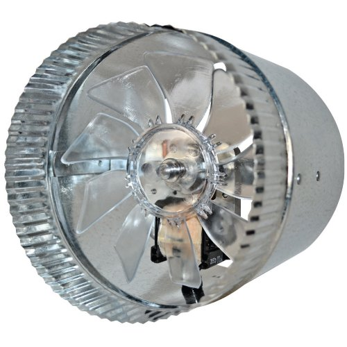 Hot Air Duct Fans : Suncourt inductor quot in line duct fan db ebay