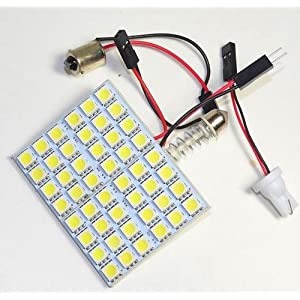 48 SMD(6x8) LED 凡用、ルームランプ LEDパネル T10x31mm