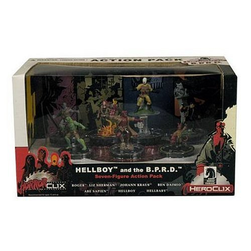Dark Horse HorrorClix/ Heroclix Hellboy and the B.P.R.D. Action Pack (041498171865)