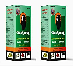 Dr Rao s Keshovin(Herbal Hair Oil)(100ml)(Pack Of 2)