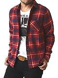 (リミテッドセレクト) LIMITED SELECT ゆうパケット発送 ネルシャツ メンズ 長袖 チェック シャツ ワークシャツ 大きいサイズ / R4L-0720 / L / O柄 5