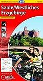 ADFC-Radtourenkarte 13 Saale /Westliches Erzgebirge 1:150.000, reiß- und wetterfest, GPS-Tracks Download und Online-Begleitheft