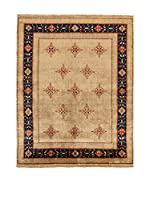 Design Community By Loomier Alfombra In Mirzapur (Beige/Azul)