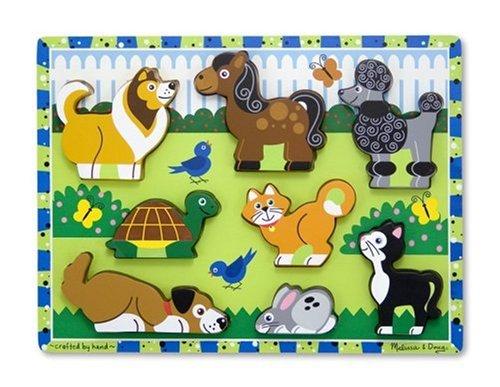 Melissa & Doug Pets Chunky Puzzle - 1