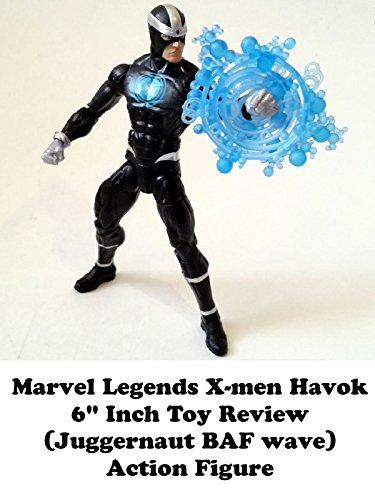 "Marvel Legends X-men HAVOK 6"" inch Toy Review (Juggernaut BAF series) action figure"