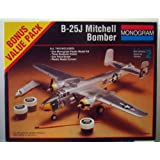 B-25j Mitchell Wwii Bomber By Monogram Scale 1:48 by Monogram