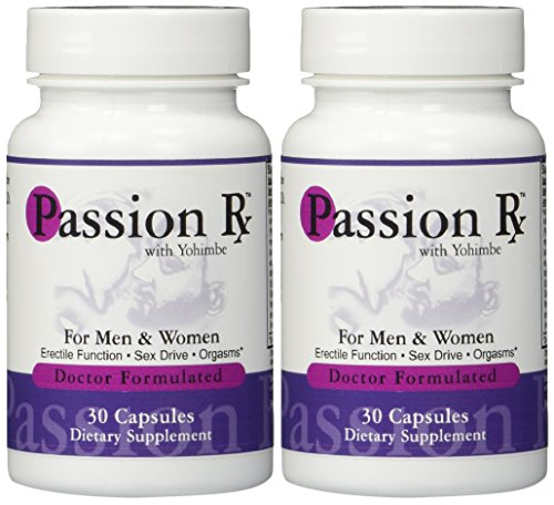 2-Bottles-Passion-Rx-with-Yohimbe-30-Capsules-Formulated-by-Ray-Sahelian-MD