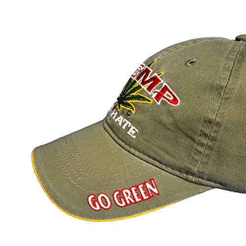 Hemp-Not-Hate-Cannabis-Marijuana-Leaf-Weed-MJ-Ganja-Baseball-Cap-Hats