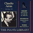Mozart: Piano Sonatas - Beethoven: Variations Op. 35 - Weber: Piano Sonata