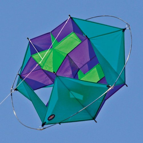 Into The Wind Cool Tumbling Star Box Kite