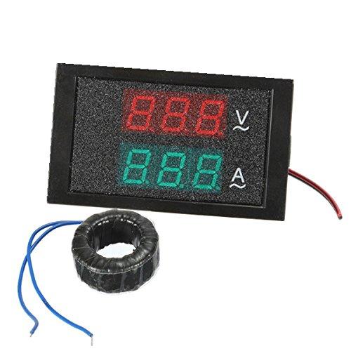 Ac 80-300V 100A Ammeter Voltmeter Digital Led Panel Meter