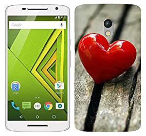 WOW 3D Printed Designer Mobile Case Back Cover For Motorola Moto X Play / Moto X Play