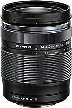 Comprar Olympus Zuiko - Objetivo para cámara réflex para Micro Cuatro Tercios (distancia focal 14-150mm, apertura f/4, zoom óptico 10.7x, diámetro filtro: 58mm) negro