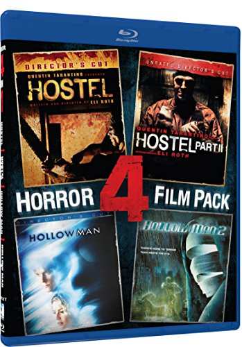 Hostel, Hostel II, Hollow Man, Hollow Man 2 - BD 4 Pack [Blu-ray] (Hostel Ii compare prices)