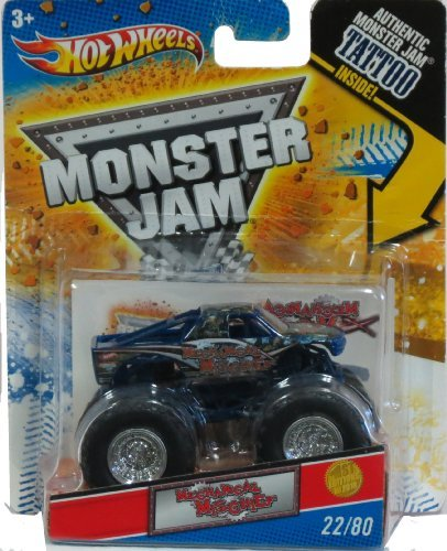 Hot Wheels Monster Jam 1:64 Mechanical Mischief Tattoo - 1