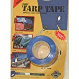 ROLL OF BLUE TARPAULIN COVER REPAIR TARP FIXING TAPE