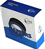 Gaffer's tape, 2 inch 55yards, matte black, GF5050200130B. Very sticky, no residue adhesive, cloth tape. Gorilla gaff tape for a speed pro. Tears easy, water resistant. Buy with full satisfaction guarantee.