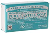 Dr Bronners Mild Aloe Baby Soap Bar Made with Organic Ingredients 140 g