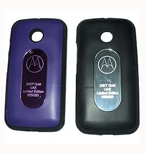 Combo of 2 Motorola E2 Compatible Back Cover