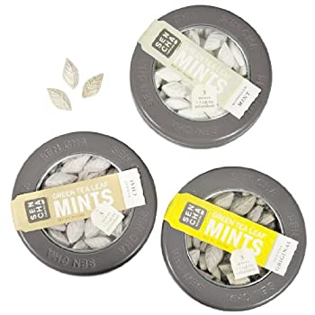 Green Tea Mints - 3-pack Sampler