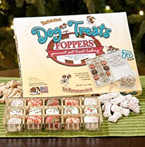 Foppers Gourmet Pet Treat Bakery Dog Treats - 75 Pieces
