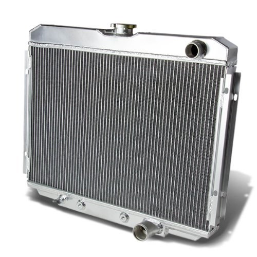 Ford Mustang 3-Row Full Aluminum Racing Radiator (Antifreeze For Mustang compare prices)