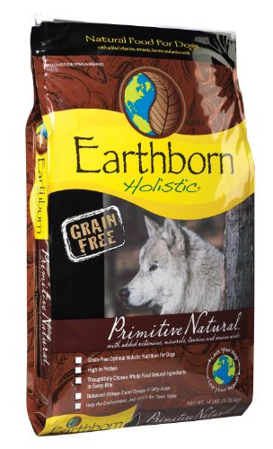 Wells Earthborn Holistic Primitive Natural Grain-Free Dog Food - 14 lb. Bag
