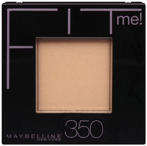 Maybelline New York Fit Me! Powder, 350 Caramel, 0.3 Ounce