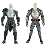 Mortal Kombat Internal Devastation X-Ray 2 Pack Reptile & Jax Figures