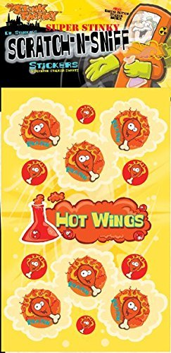 Scratch-N-Sniff Stickers- Hot Wings