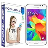 Cellbell Premium Samsung G361 Galaxy Core Prime VE Tempered Glass Screen Protector (Comes with Warranty,User guide,Complimentary Prep cloth)-Bronze Edition