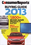 51cSU97aItL. SL160 Consumer Reports Buying Guide 2013