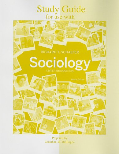 Study Guide for Use with Sociology: A Brief Introduction