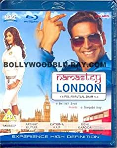 Namastey London [Blu-ray] (Hindi Film / Bollywood Movie / Indian Cinema)