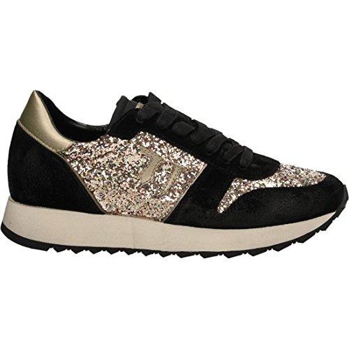 Trussardi Jeans 79S045XX Sneakers Donna Crosta Nero/ Oro Nero/ Oro 38