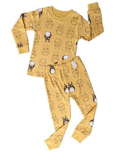 UniFriend Little Boys, Girls 2 Piece Pajama Set