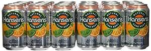 Hansen's Mandarin Lime Soda, 12 Ounce Cans (Pack of 24)