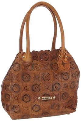 Pikolinos Women's Bolsos BBB-795 Leather Handbag Cuero