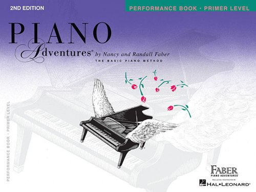 Piano Adventures Performance Book, Primer Level 2nd Edition