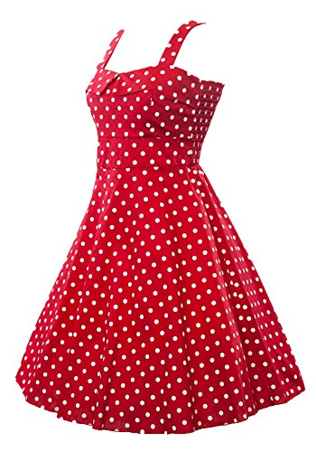 sidecca-retro-1950s-polka-dot-empire-swing-dress-red-large
