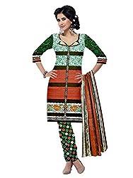BAPUJI PRINT - WOMEN'S COTTON UNSTITCH DRESS MATERIALS - MASTANI-113