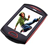 NAXA Electronics NMV-179 Portable Media Player with 2.8-Inch Touch Screen, Red